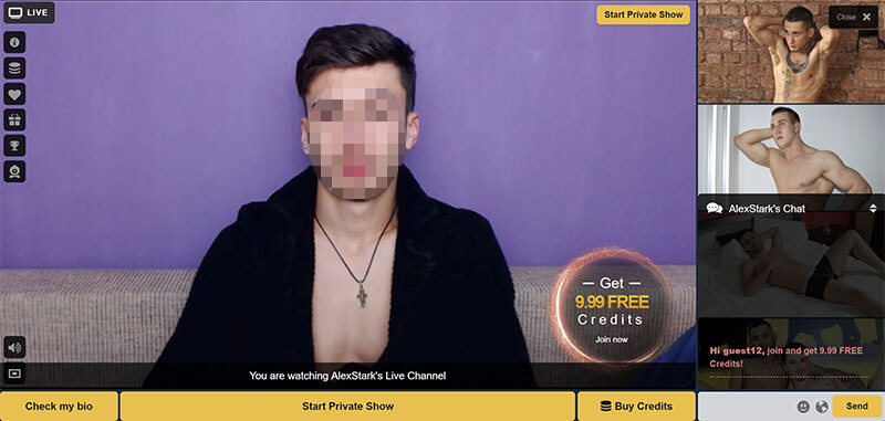 cameraboys free chat