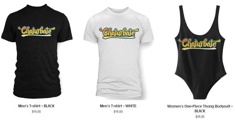CB Swag - Get your own Chaturbate merchandise