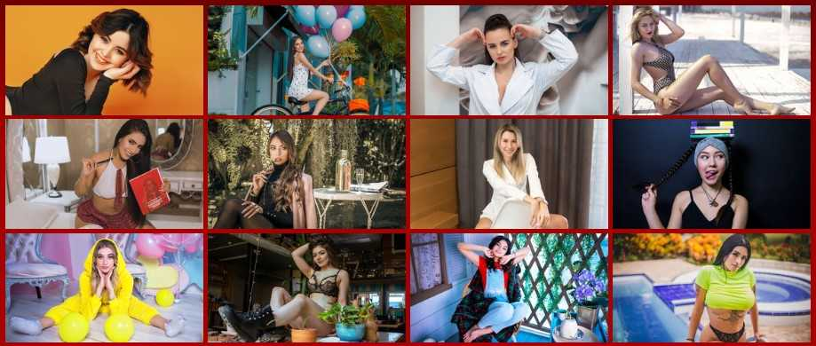 Top 100 models at LiveJasmin voted by the members